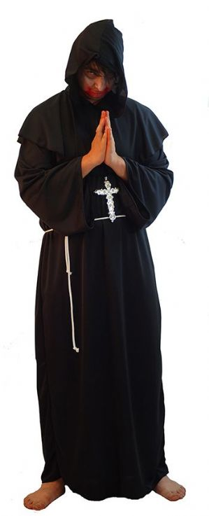 Black Monk Costume